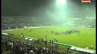 Match interrupted Lech Poznan vs Notts County death of Pope John Paul II