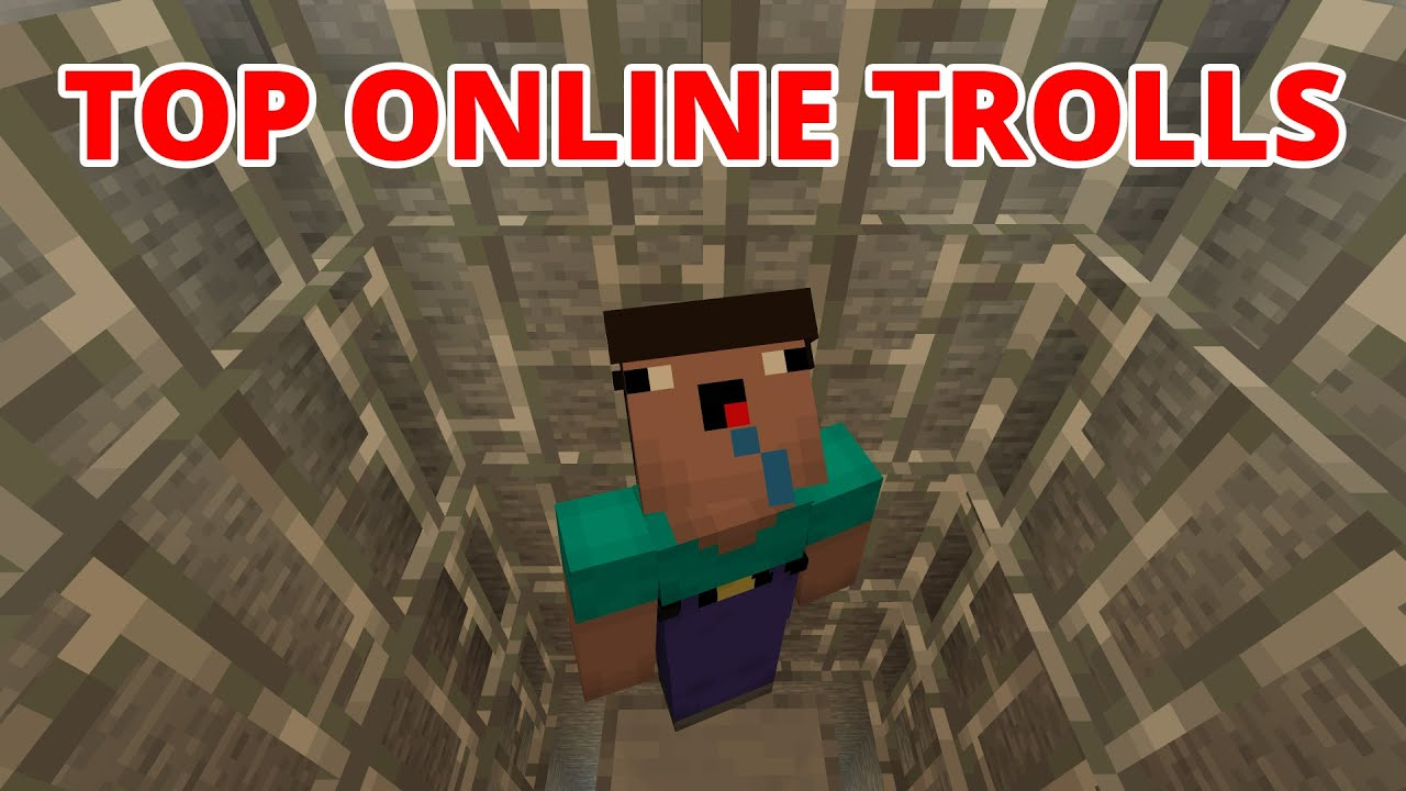 TOP EASY ONLINE TROLL TRAPS and HOUSE PRANKS your FRIENDS in Minecraft 1.16 Survival How To Tutorial