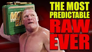 How This Weeks WWE RAW Was The Most Predictable & Disappointing Show Ever! (3rd June 2019)