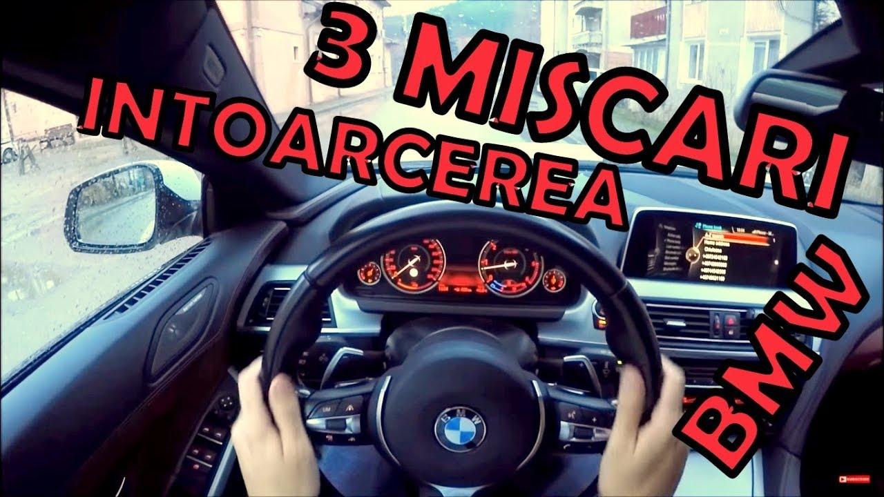Cum sa faci INTOARCEREA DIN 3 MISCARI ca un SOFER profesionist?  #vlog 41
