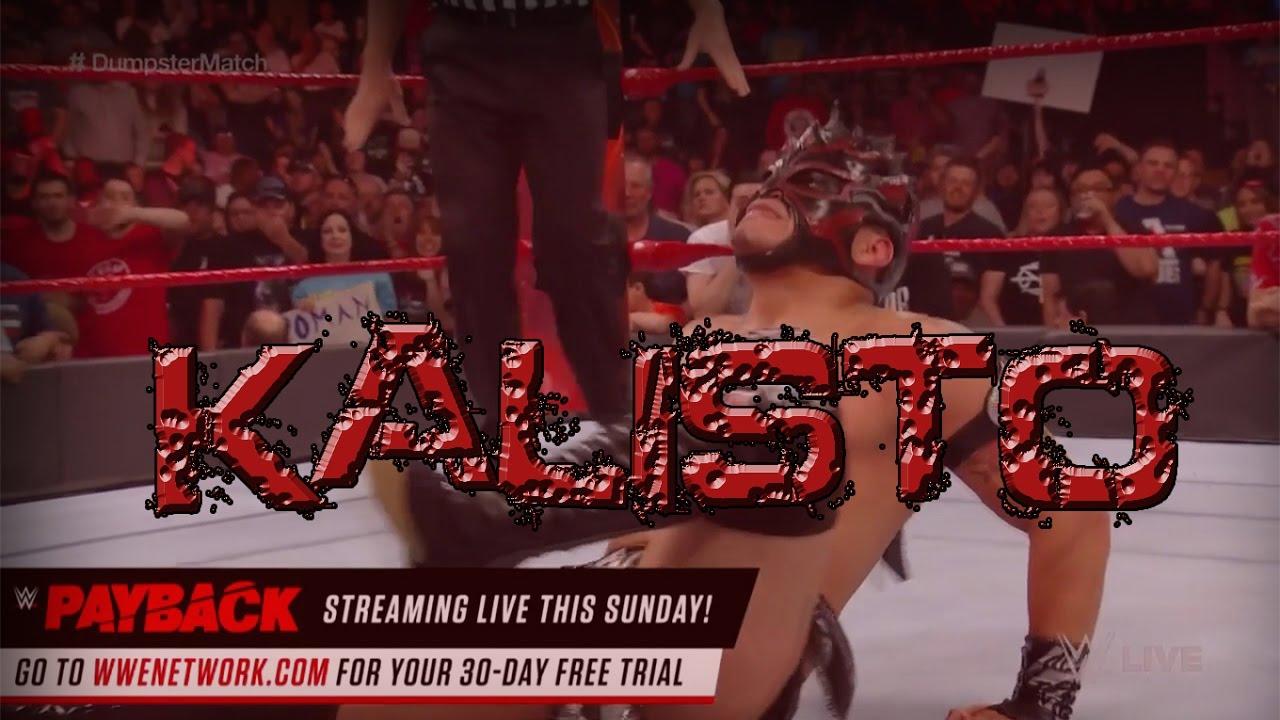Como crear a Kalisto New Attire en WWE SVR 2011 PS2 WWE 12 Y WWE ...