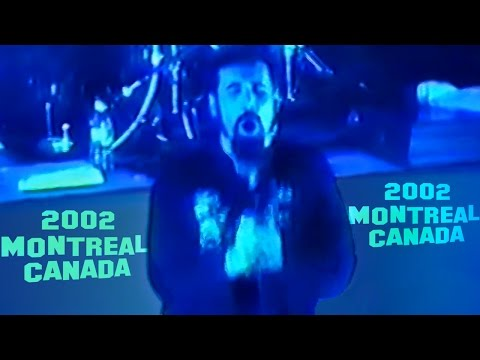 System Of A Down - Toxicity live 【Montreal 2002| 60fpsᴴᴰ】