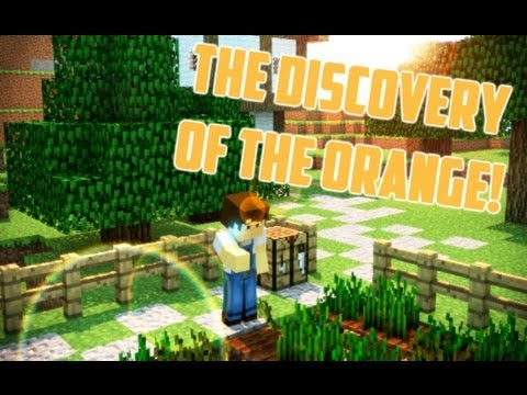 The discovery of the Orange.. (Minecraft Animation)