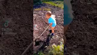 Смешное видео про детей. Тимур 3 года