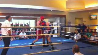 Zac Dunn - Boxing In Queensland - Round 2 2011