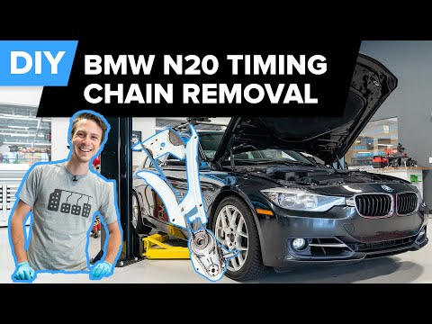 BMW N20/N26 Timing Chain Replacement DIY Part 1 – Removal & Disassembly (328i, 320i, 228i, 428i, X1)