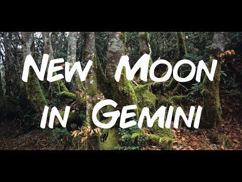 New Moon in Gemini June 13, 2018 * Supermoon * Gregory Scott Astrology