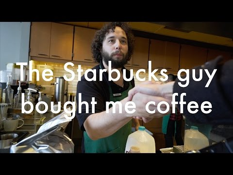 The Starbucks guy bought me coffee: Lok's Wideo Blog 10.1.2017