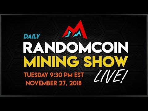 RandomCoin Mining Show LIVE! ⛏ - Metaverse (ETP)