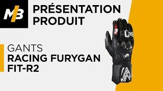 Gants Racing Furygan FIT-R2, avis en vidéo par Motoblouz