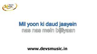 Baahon ke Darmiyan Karaoke www.devsmusic.in Devs Music Academy