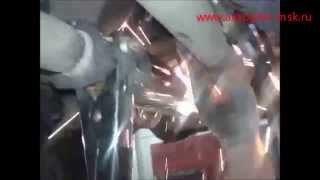 Ремонт і заміна каталізатора Honda CR-V 1.8 на полум'ягасник