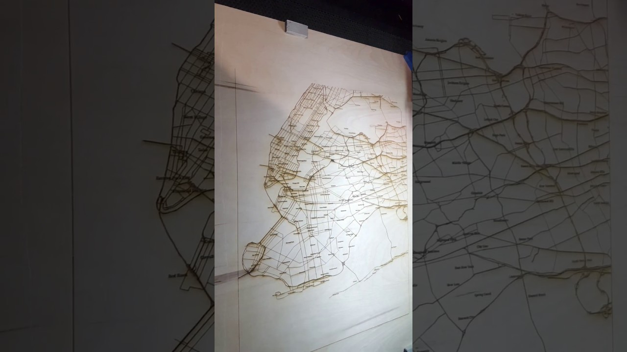 Lasercut 3D Topographic Wood Maps: 11 Steps (with Pictures)