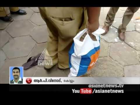 Operation Shylock Police raid in Kollam: 56 lakh rupees seized