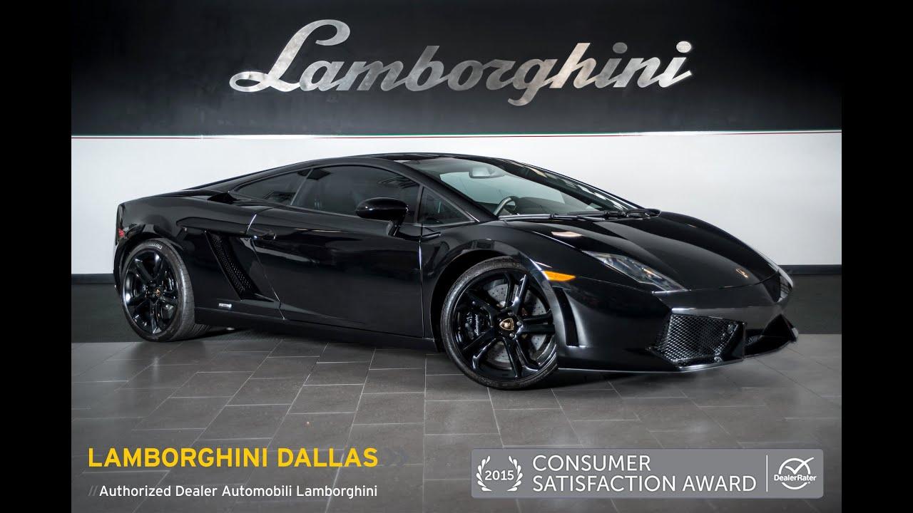 2009 Lamborghini Gallardo Lp 560 4 Nero Noctis L0830 Youtube
