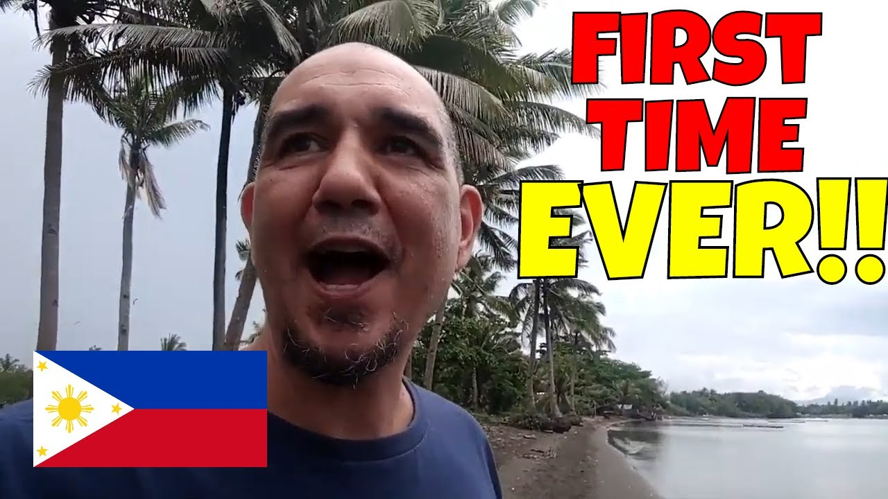 First Time Experiences in the PHILIPPINES - NINONG/FISHING and more!