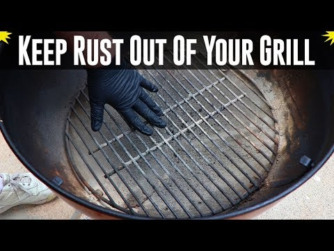 Keep Rust Out Of Your Grill - A Simple Step To Prolong Your Grill's Life