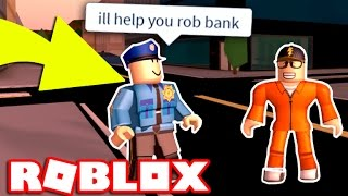 HOW TO TRICK THE POLICE IN ROBLOX JAILBREAK