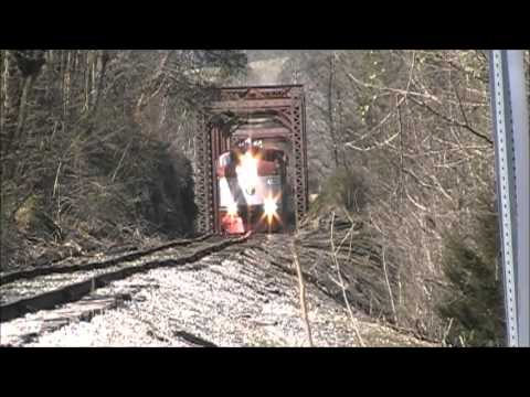 Tennessee Central Railway Museum Wine Train Chase 3/16/2013