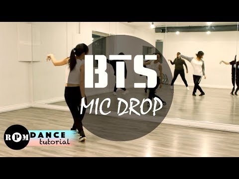 "BTS ""MIC DROP"" Dance Tutorial (Prechorus, Chorus)"