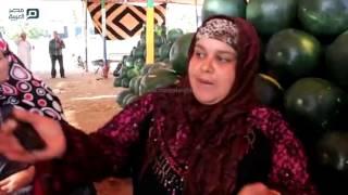 مصر العربية | سوق البطيخ :بالمحلة