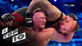 Brock Lesnar's Greatest Wrestlemania Moments: Wwe Top 10, April 1, 2020