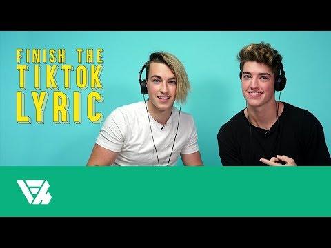 Finish The TikTok Lyrics: Jon & Joey Klaasen
