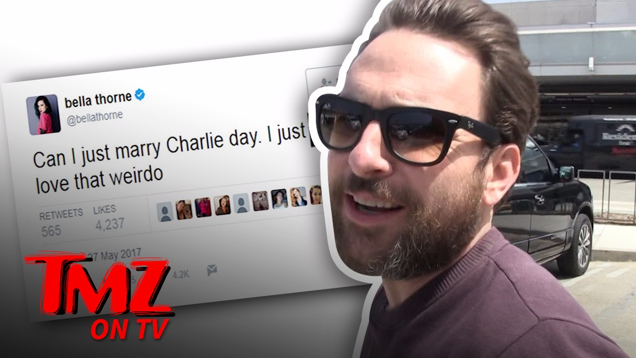 charlie day responds to