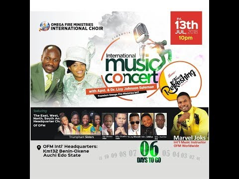 OFM Inter'l music Concert Live With Apostle Johnson Suleman