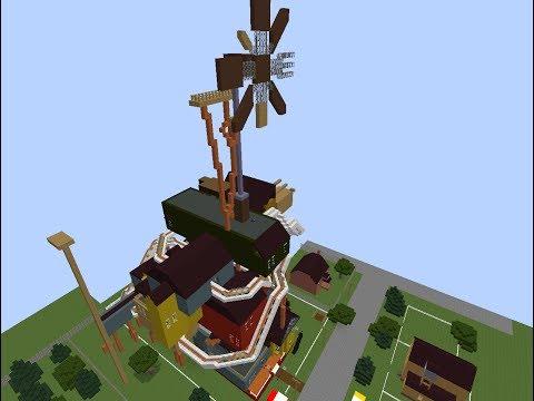 Hello neighbor alpha 4 minecraft map trailer