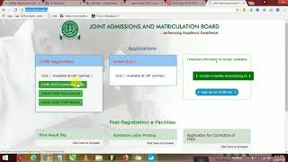 HOW TO CHECK JAMB 2018 RESULT