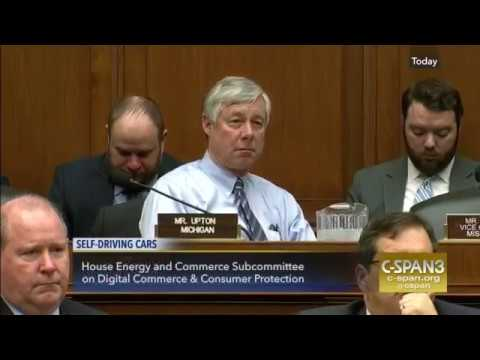 Self-Driving Cars - Hearing of The House Energy and Commerce Subcommittee
