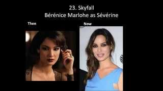 All James Bond Girls Then And Now Part 1
