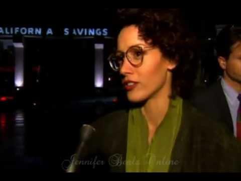 Jennifer Beals Attends The 1993 L.A. Movie Premiere Of 'Benny & Joon'
