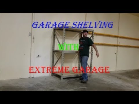 Extreme Garage Metal Shelving. Product Review.