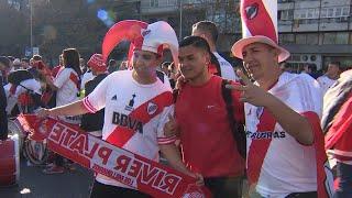 Ambiente festivo sin incidentes previo al partido River-Boca
