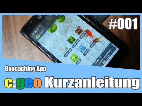 c:geo - Android Geocaching App - Kurzanleitung