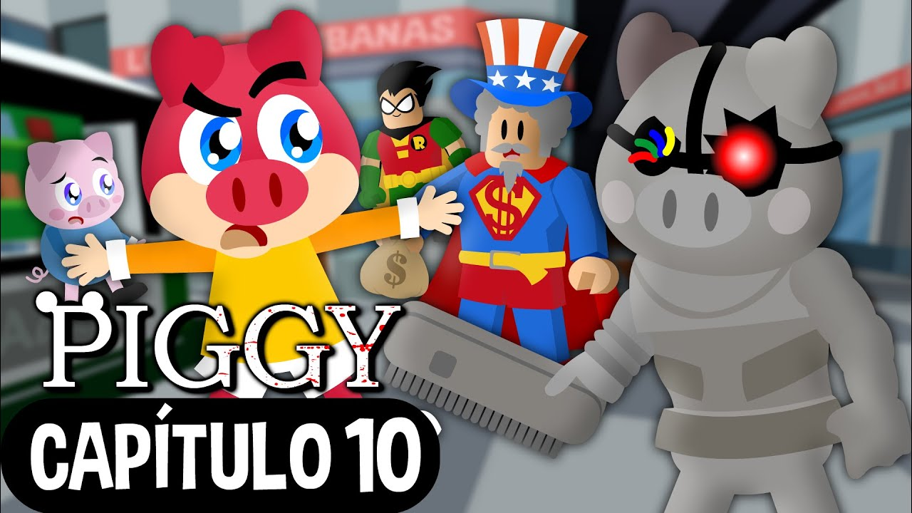 Flonk em Piggy Capítulo 10 - Roblox - Turma Mirim