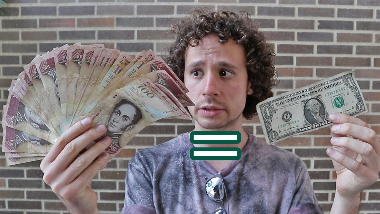 Así Es El Dinero En Venezuela Un DÓlar Vale Oro