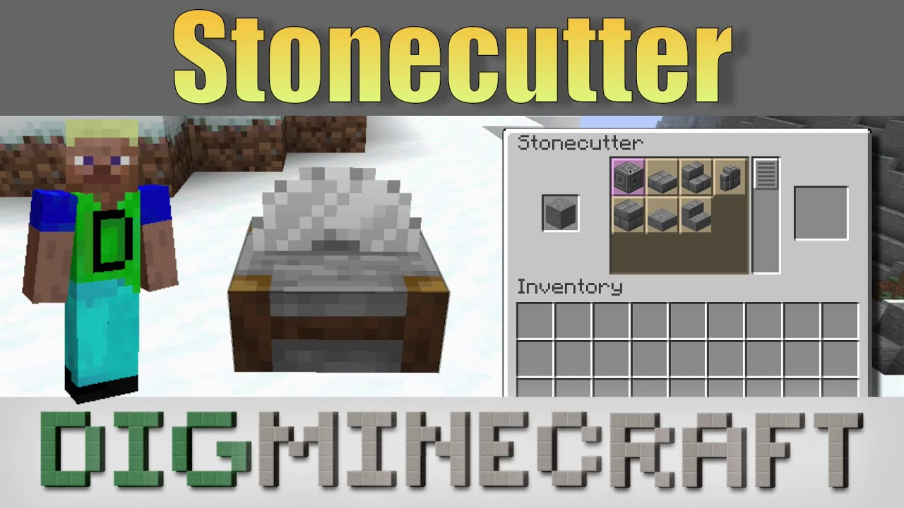 How to Use a Stonecutter in Minecraft