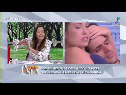 """Sonia Abrão sobre Lucas e Jéssica no BBB: """"Chifrou a noiva, já concretizou"""""""
