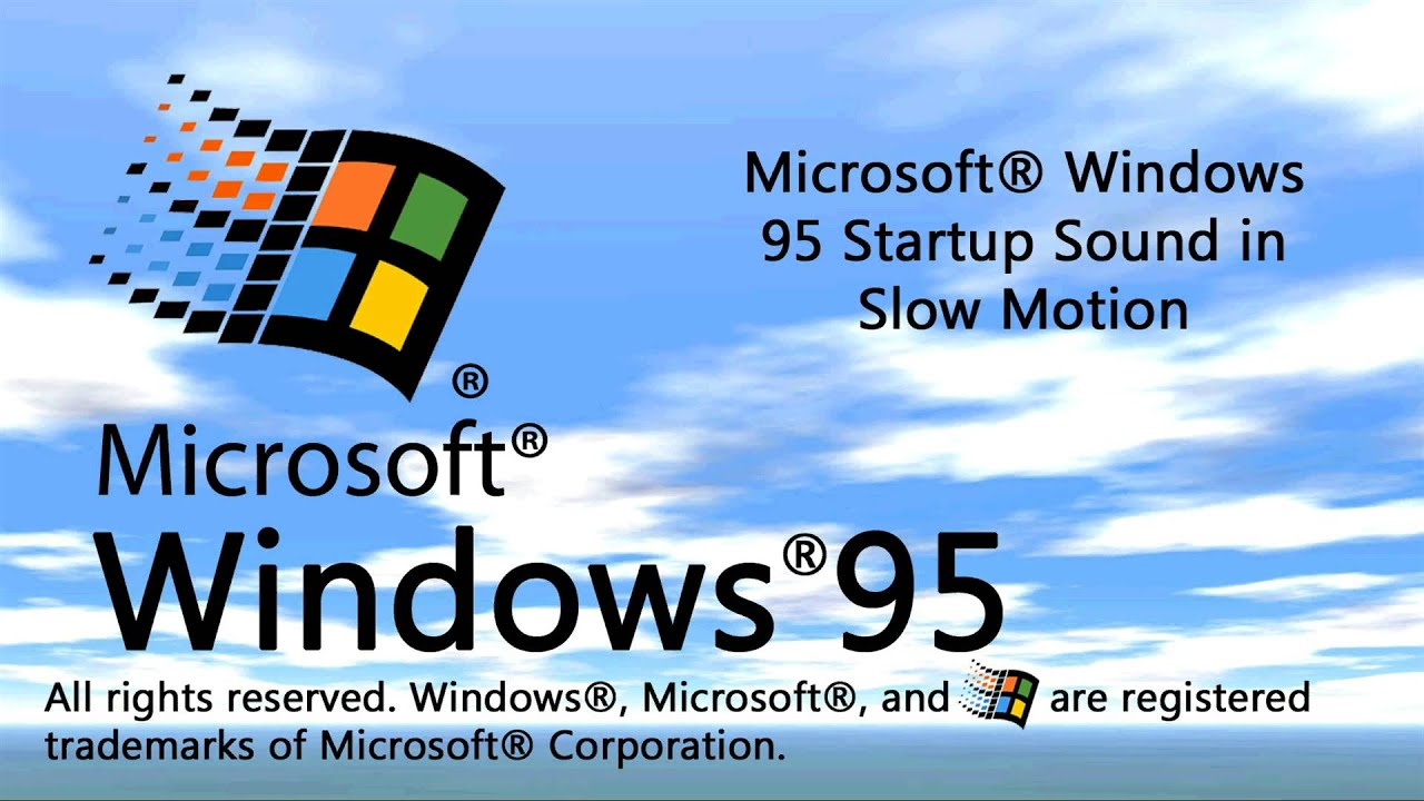 Images of Windows 95 Startup Sound - #rock-cafe