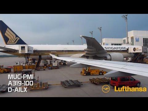 [Trip Report] Lufthansa Airbus A319 - Munich to Palma de Mallorca