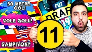 11 FARKLI ÜLKE CHALLENGE ! EFSANE TARİHİ FUT DRAFT 19 !