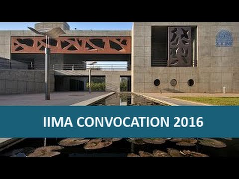 IIMA Convocation 2016