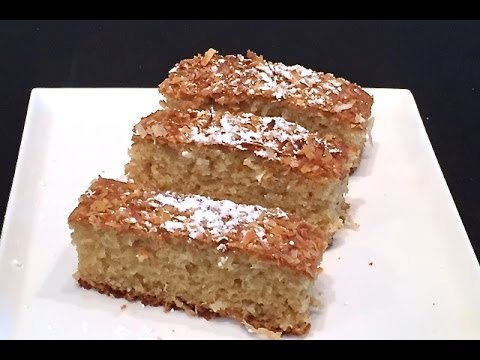 How To Make Easy Coconut Cake By Magdi