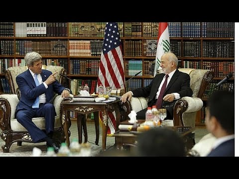 John Kerry visits Iraq at key moment of struggle against ISIL
