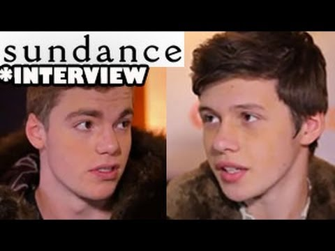Toy's House - Nick Robinson & Gabriel Basso Interview - Sundance 2013