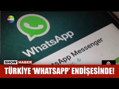 Türkiye 'Whatsapp' endişesinde!