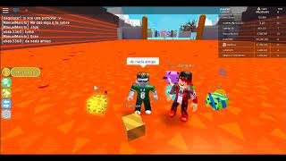 playing roblox with a new friend!!